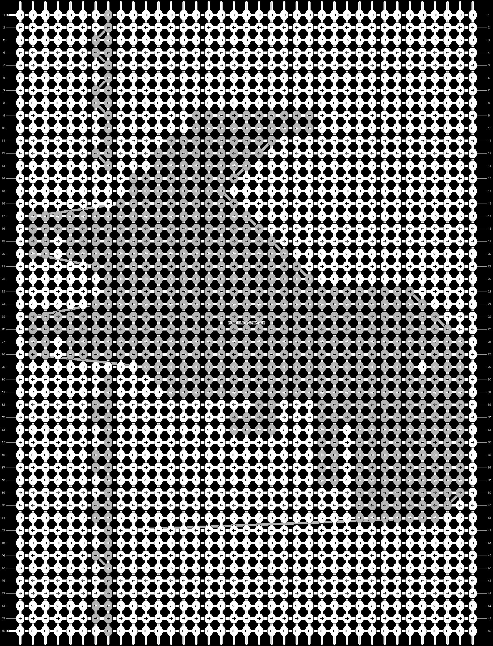 Alpha pattern #86818 pattern