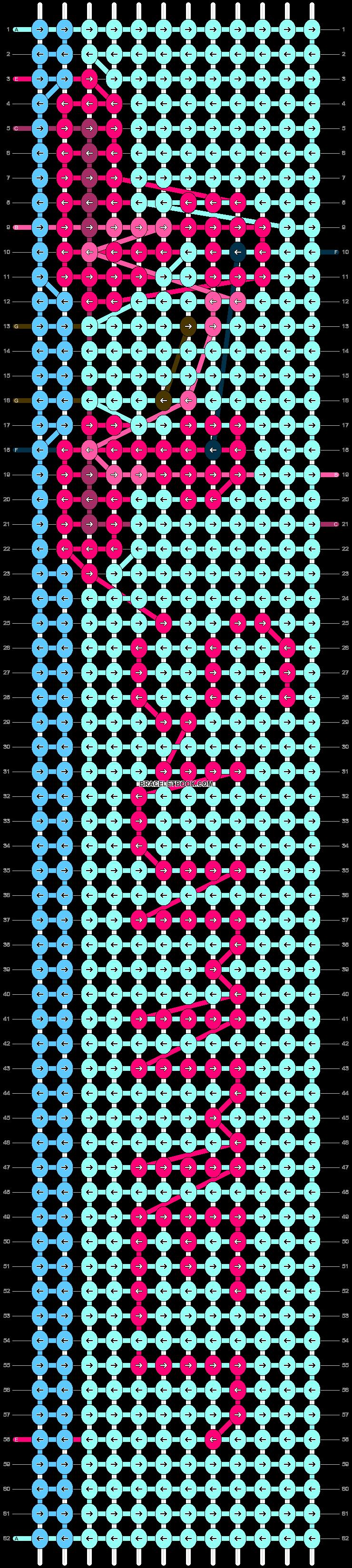 Alpha pattern #86822 pattern