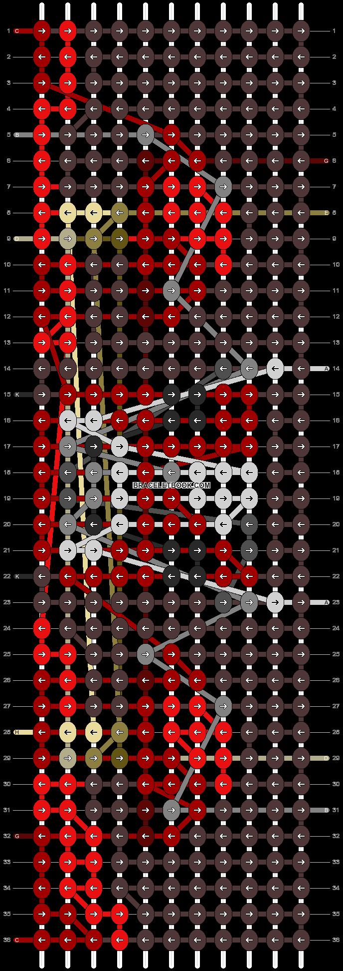 Alpha pattern #86833 pattern