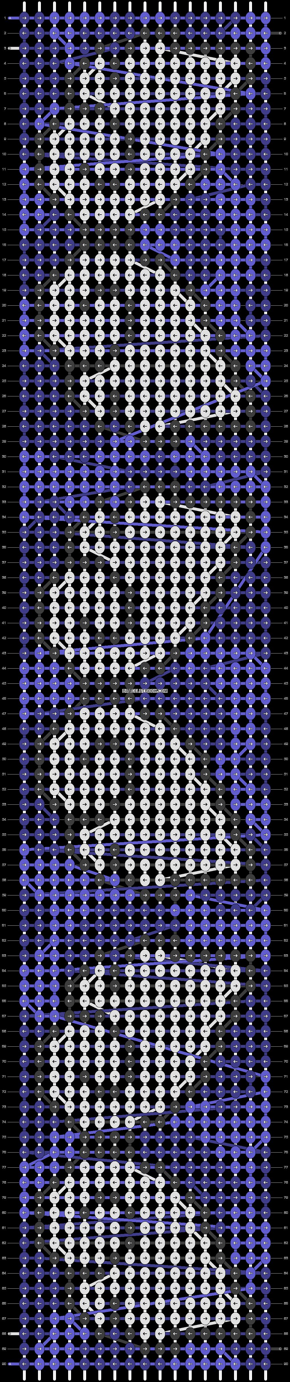 Alpha pattern #86834 pattern