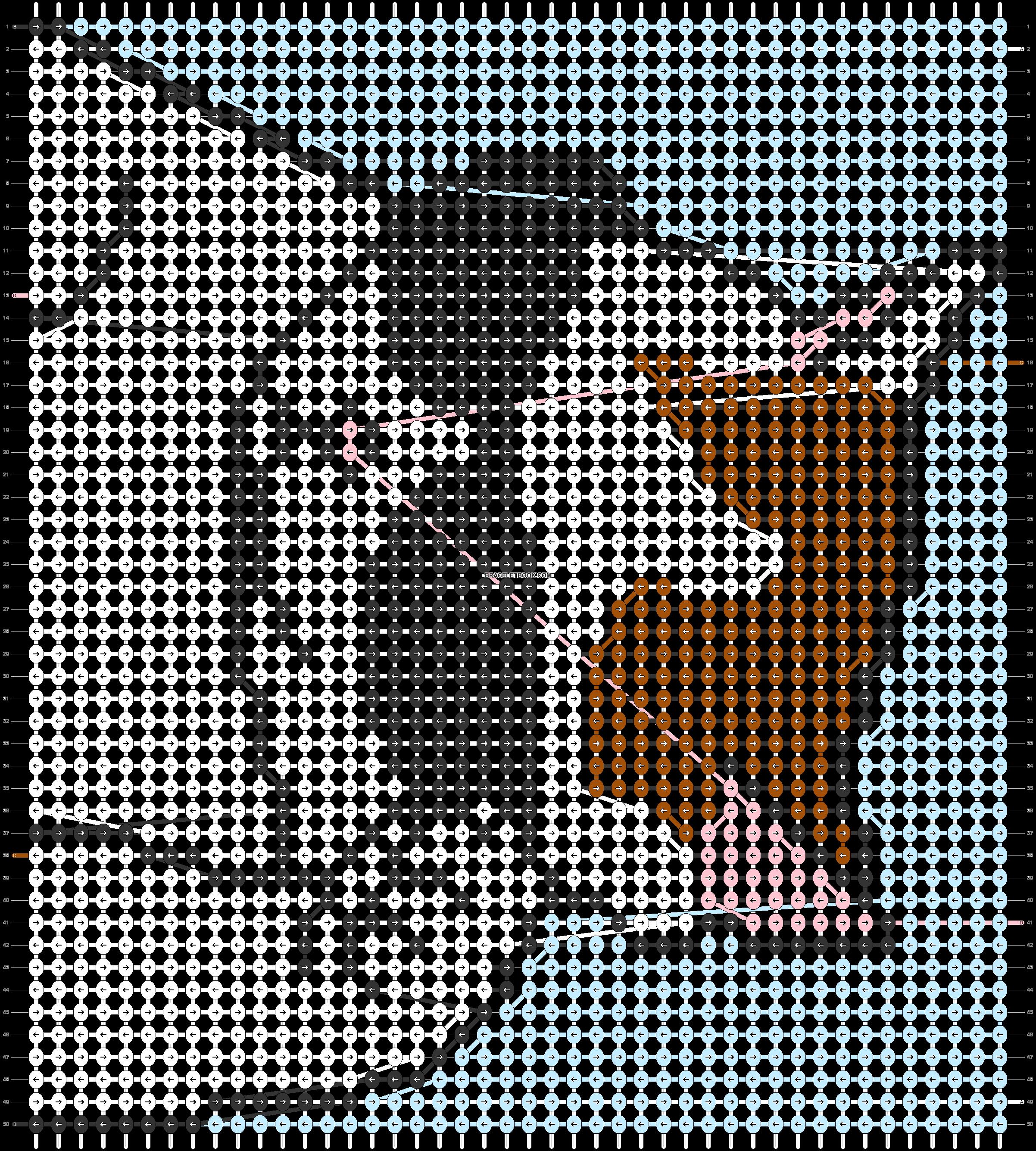 Alpha pattern #86835 pattern