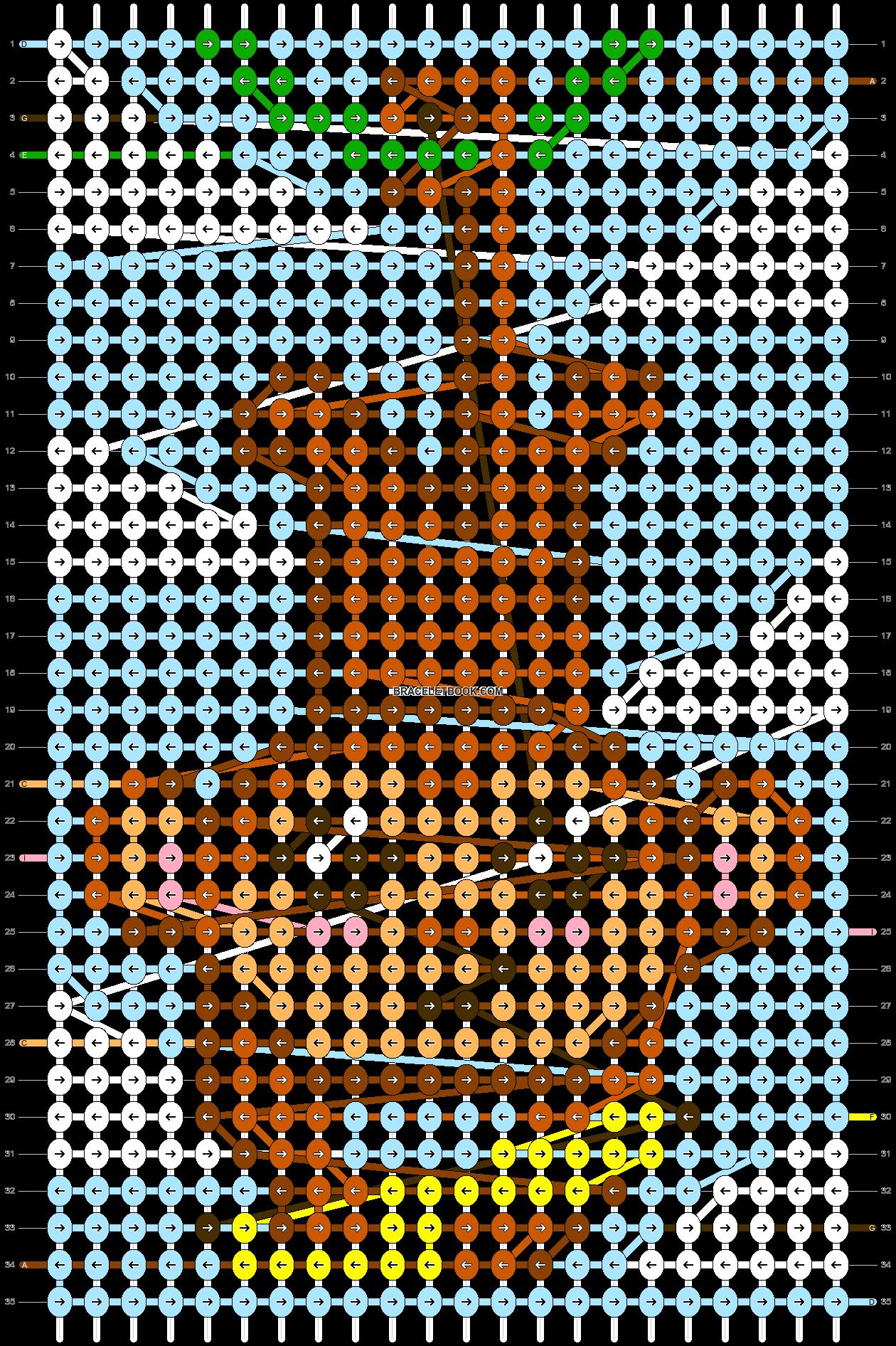 Alpha pattern #86836 pattern