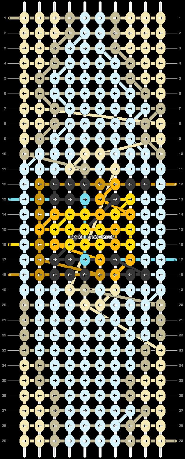 Alpha pattern #86838 pattern