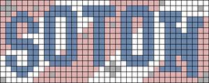 Alpha pattern #86842