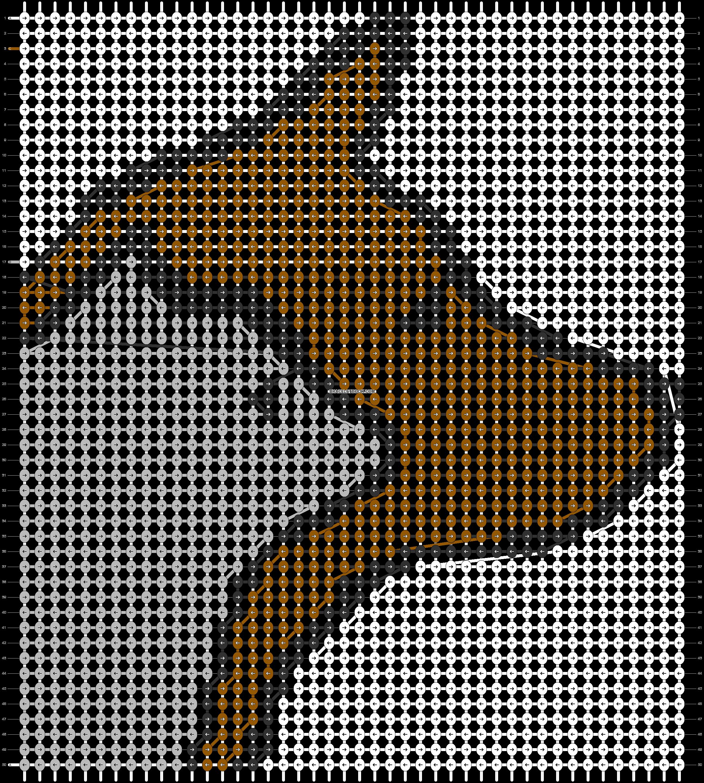 Alpha pattern #86843 pattern