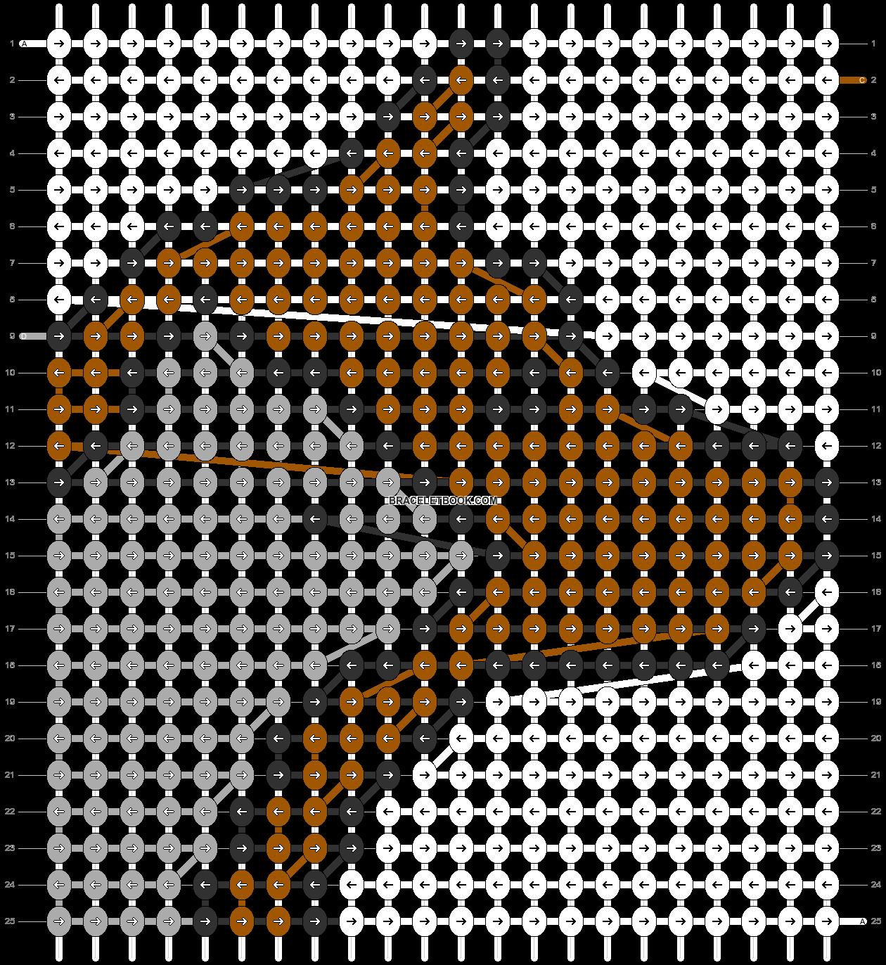 Alpha pattern #86844 pattern