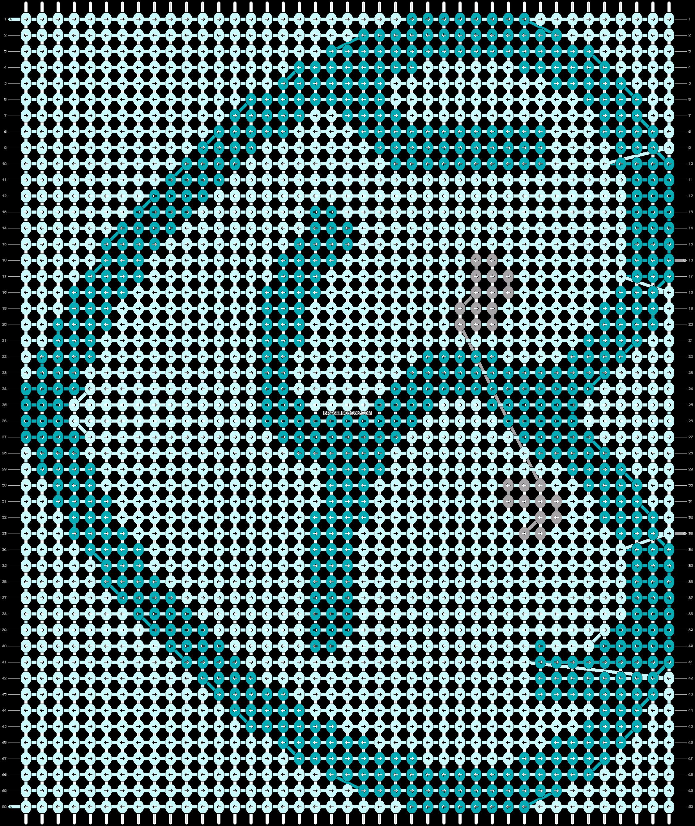 Alpha pattern #86848 pattern