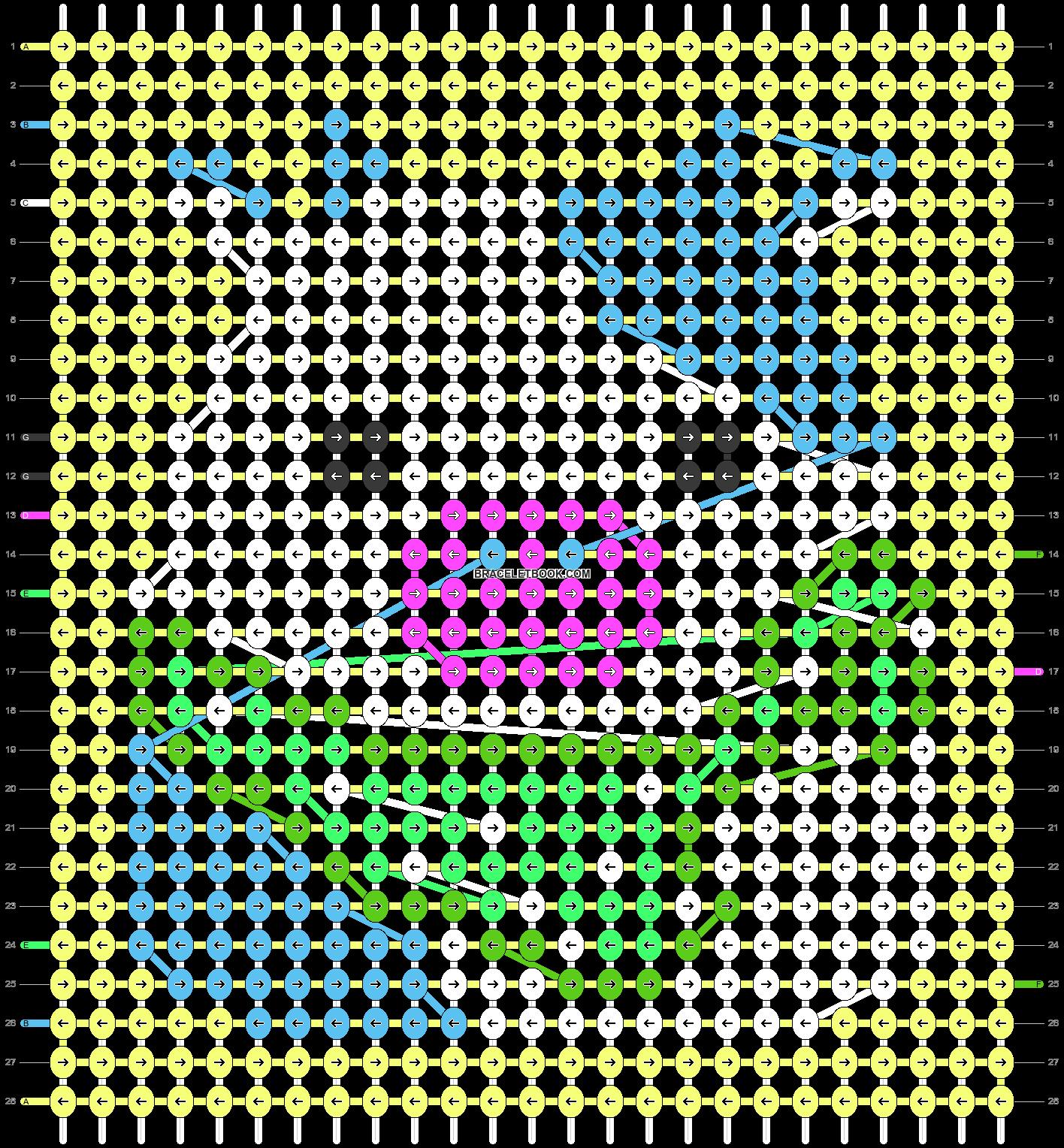 Alpha pattern #86851 pattern