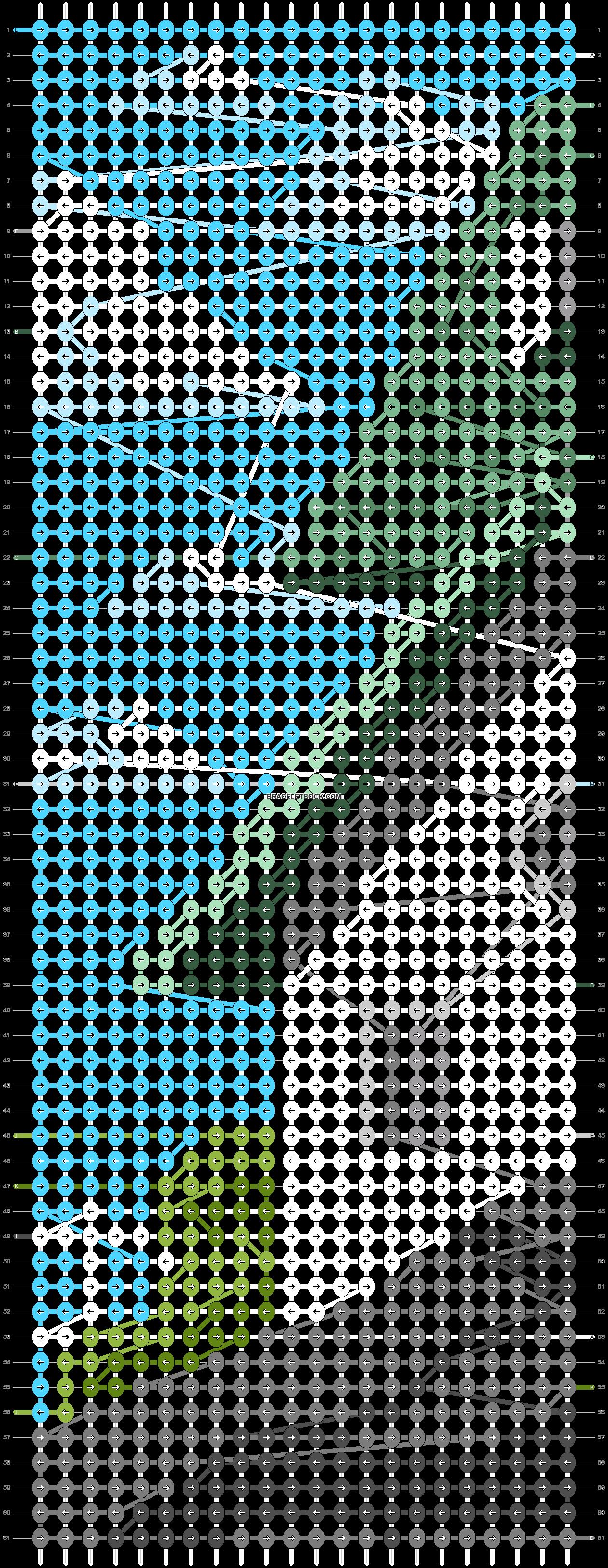 Alpha pattern #86853 pattern