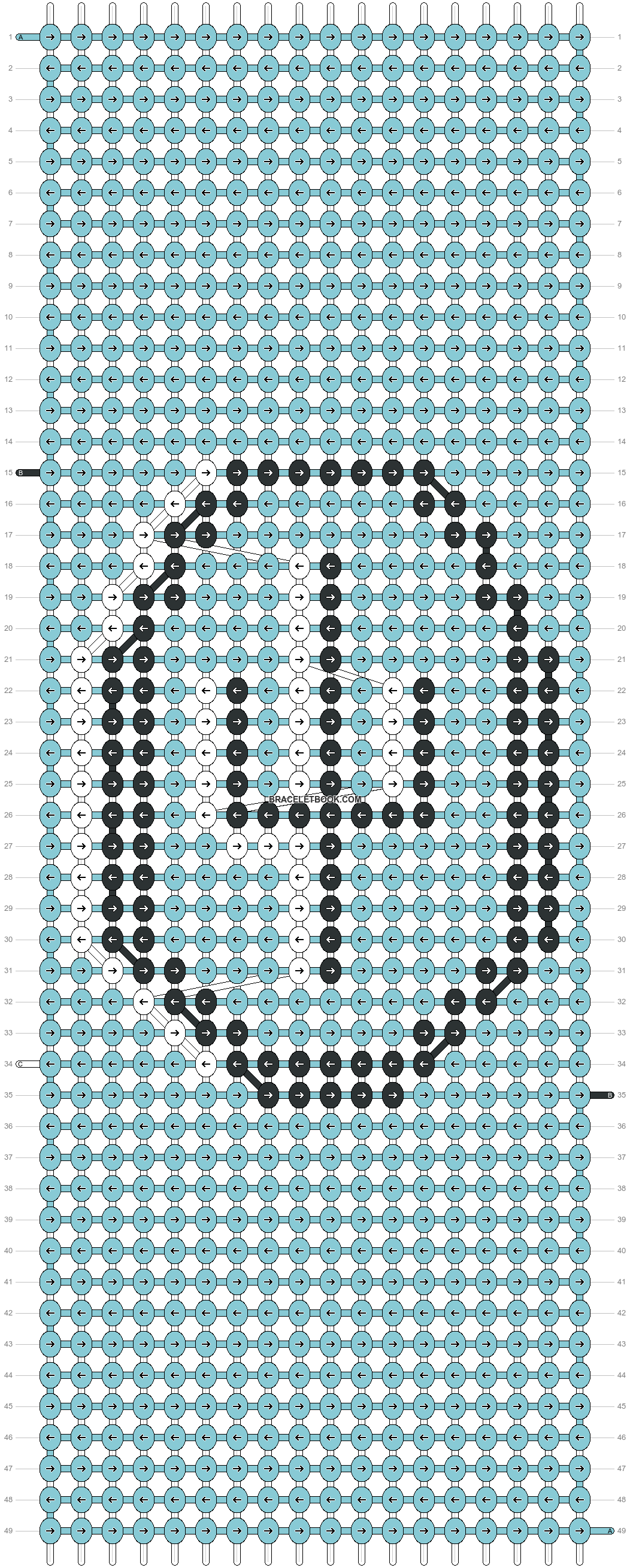 Alpha pattern #86855 pattern