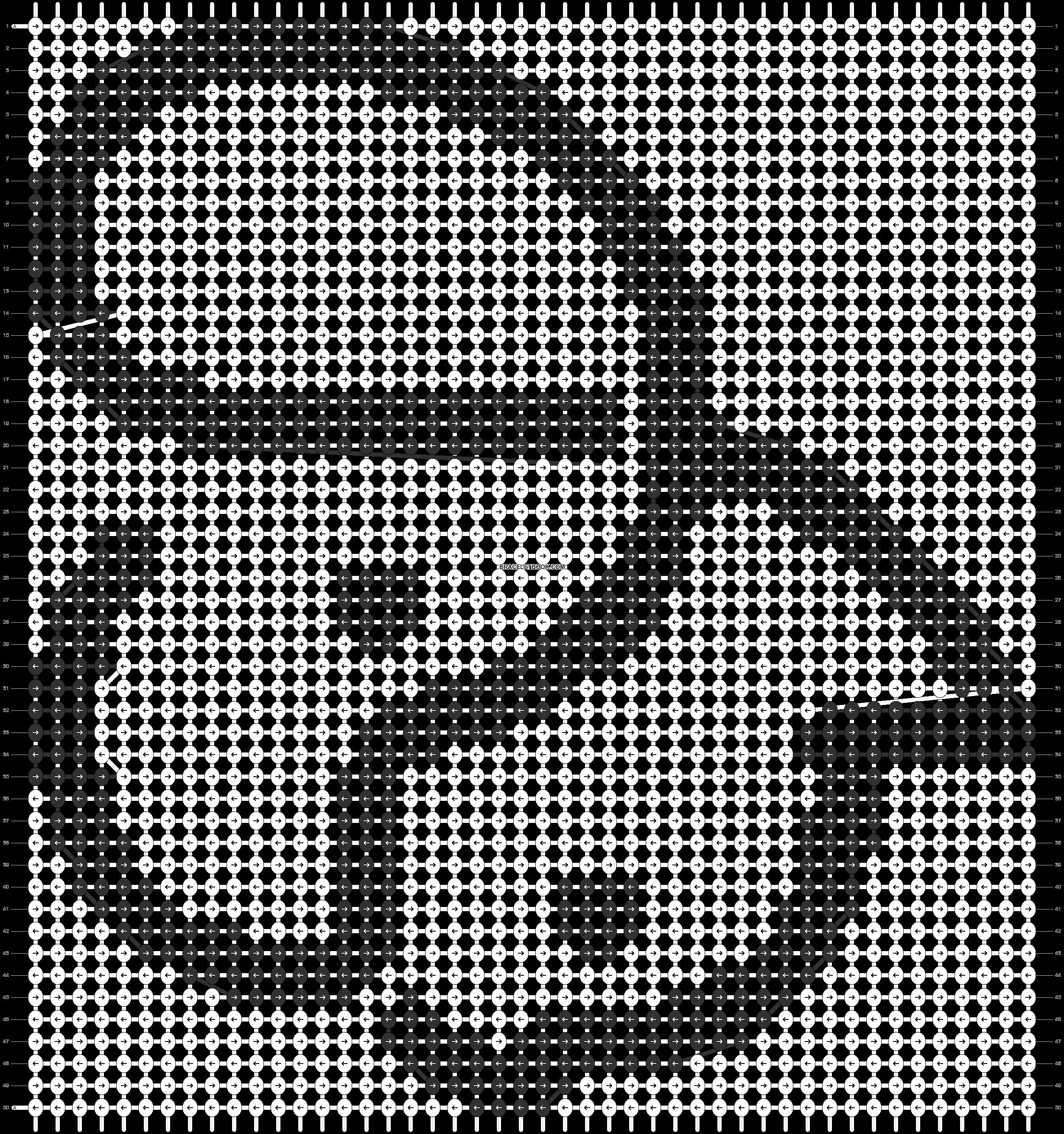 Alpha pattern #86857 pattern