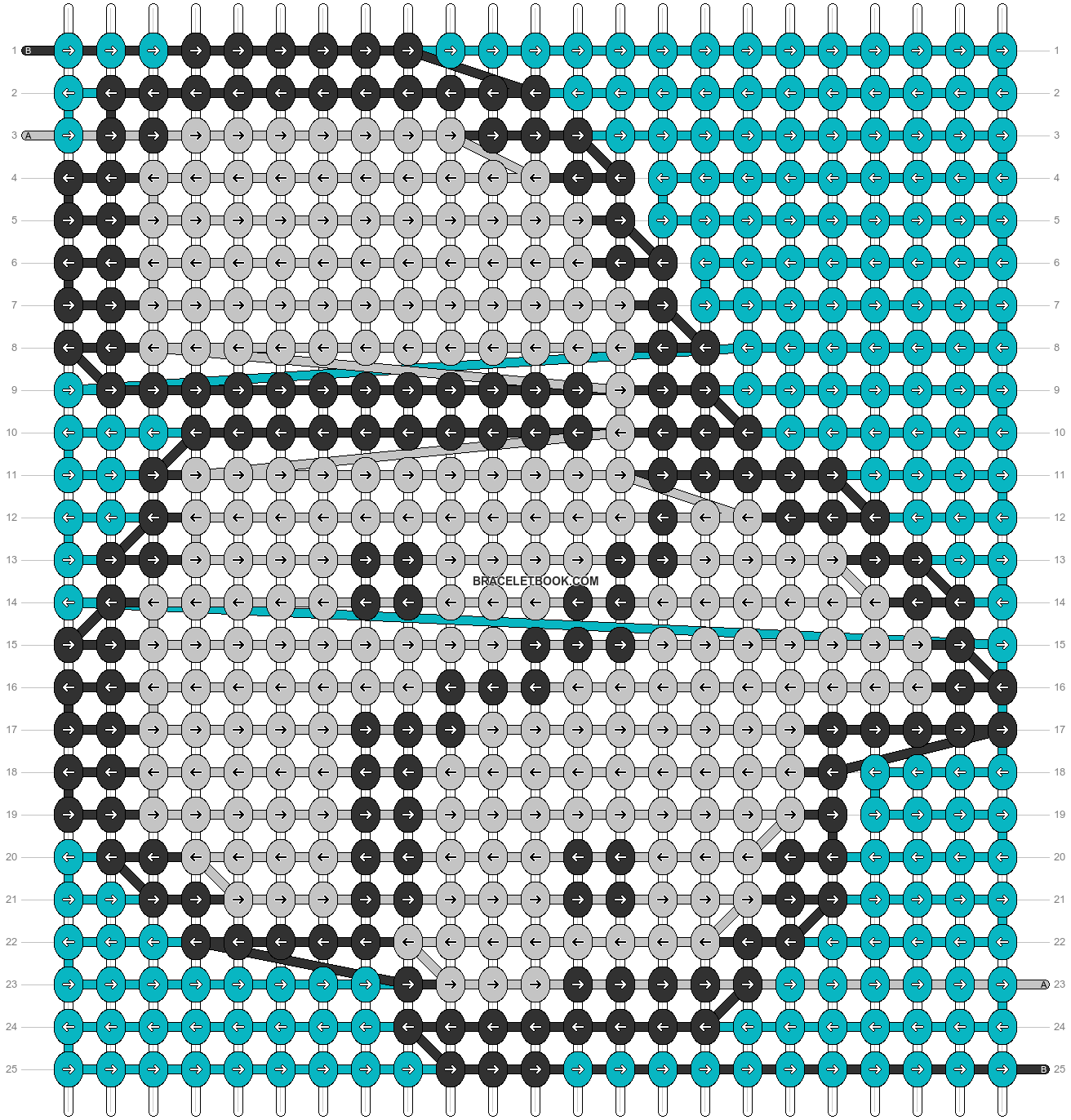 Alpha pattern #86858 pattern