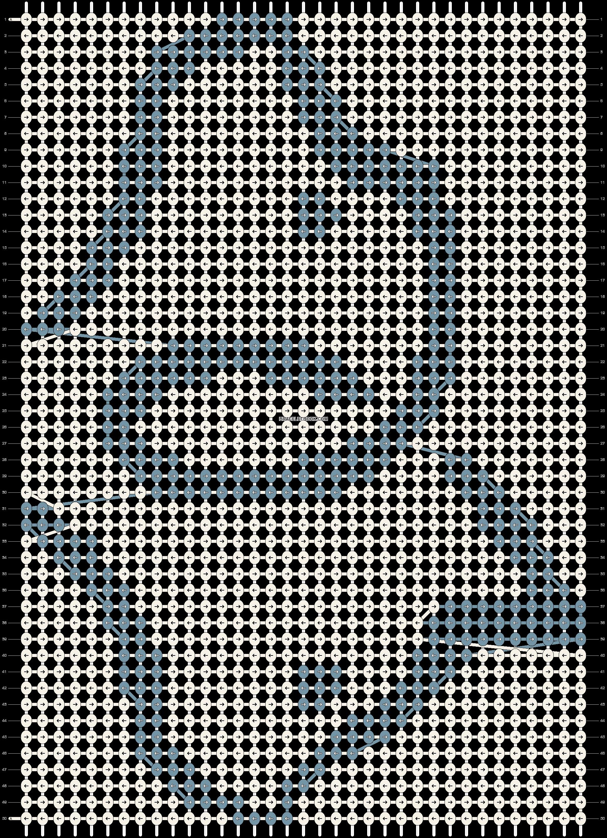Alpha pattern #86861 pattern