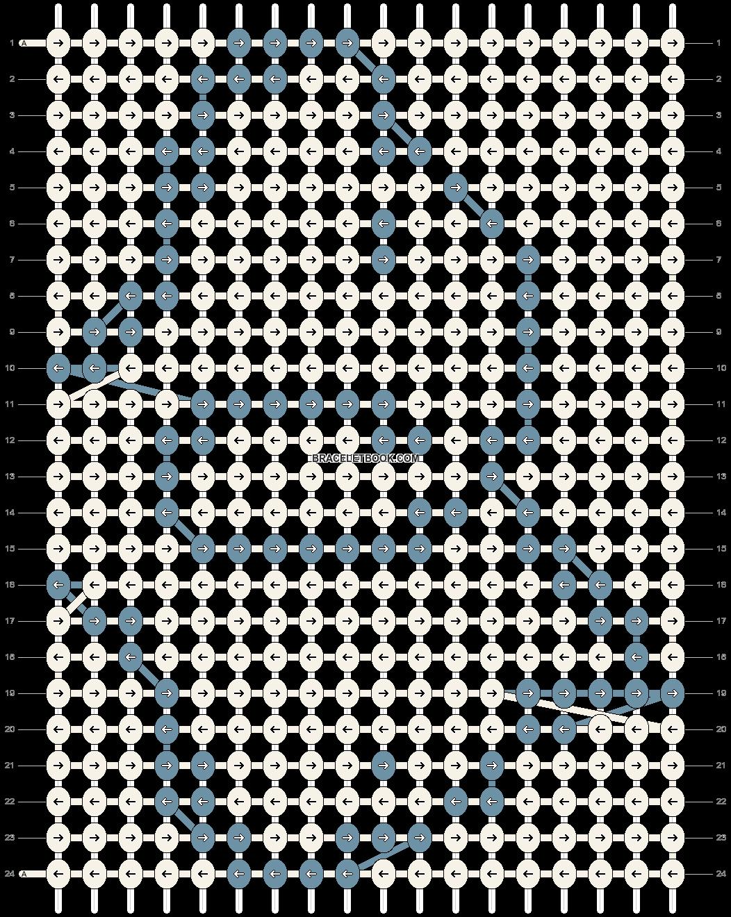 Alpha pattern #86862 pattern