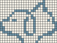 Alpha pattern #86862