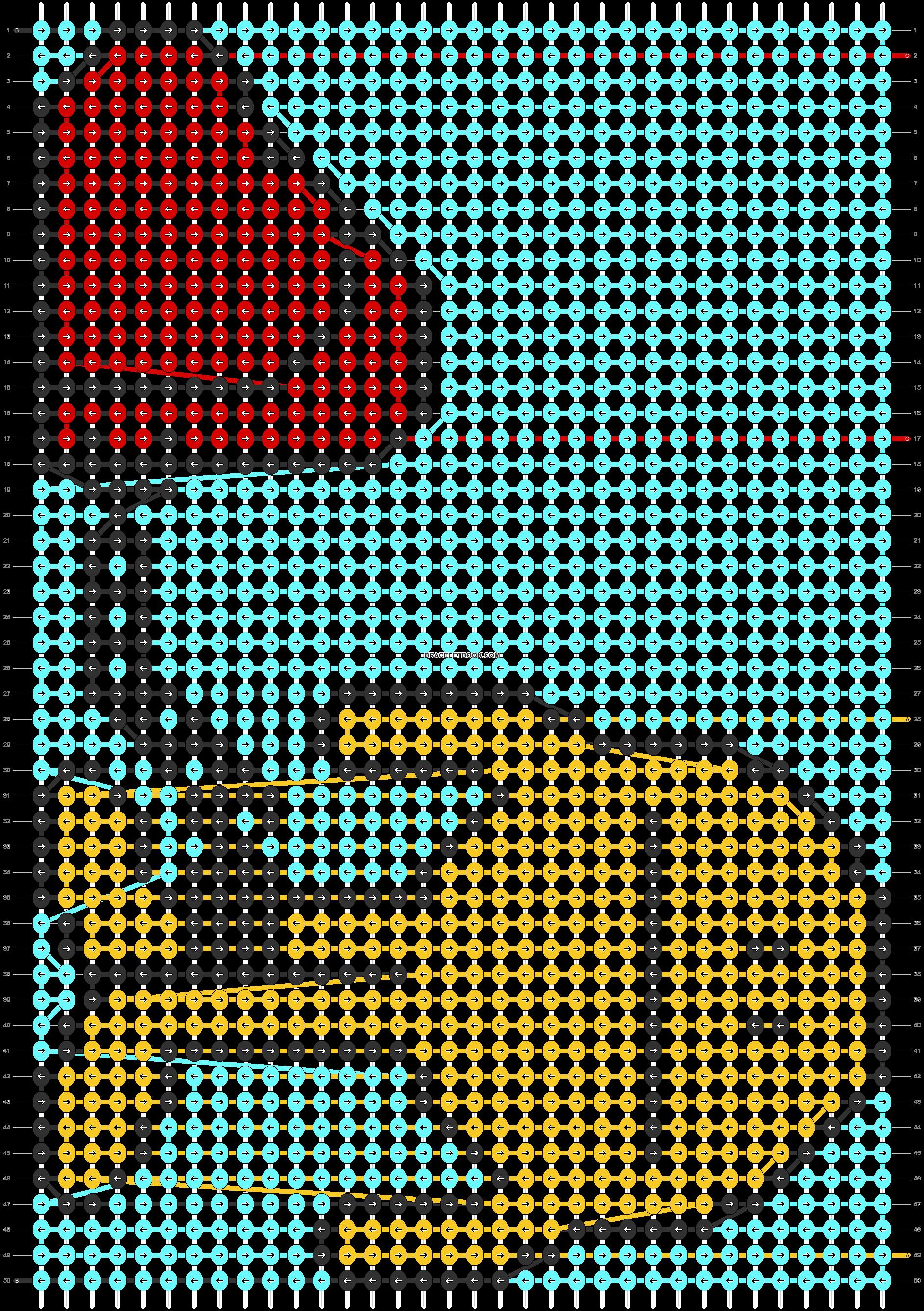 Alpha pattern #86868 pattern