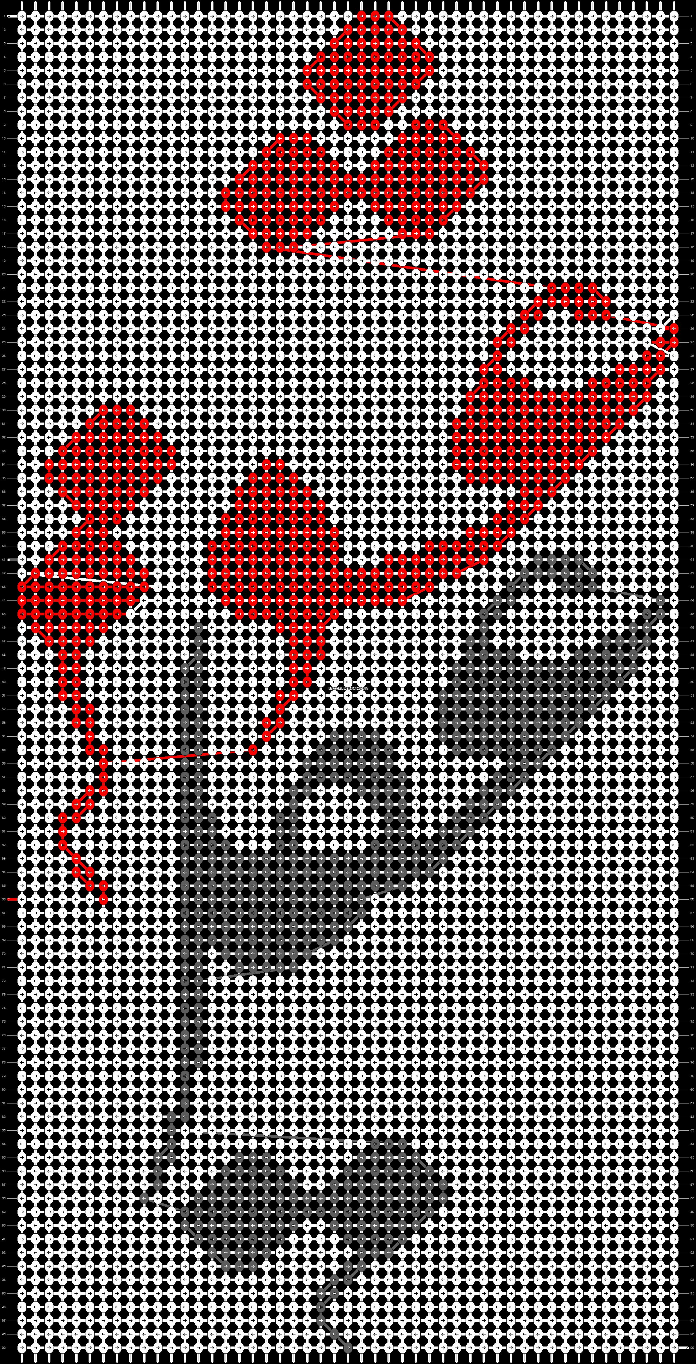 Alpha pattern #86875 pattern