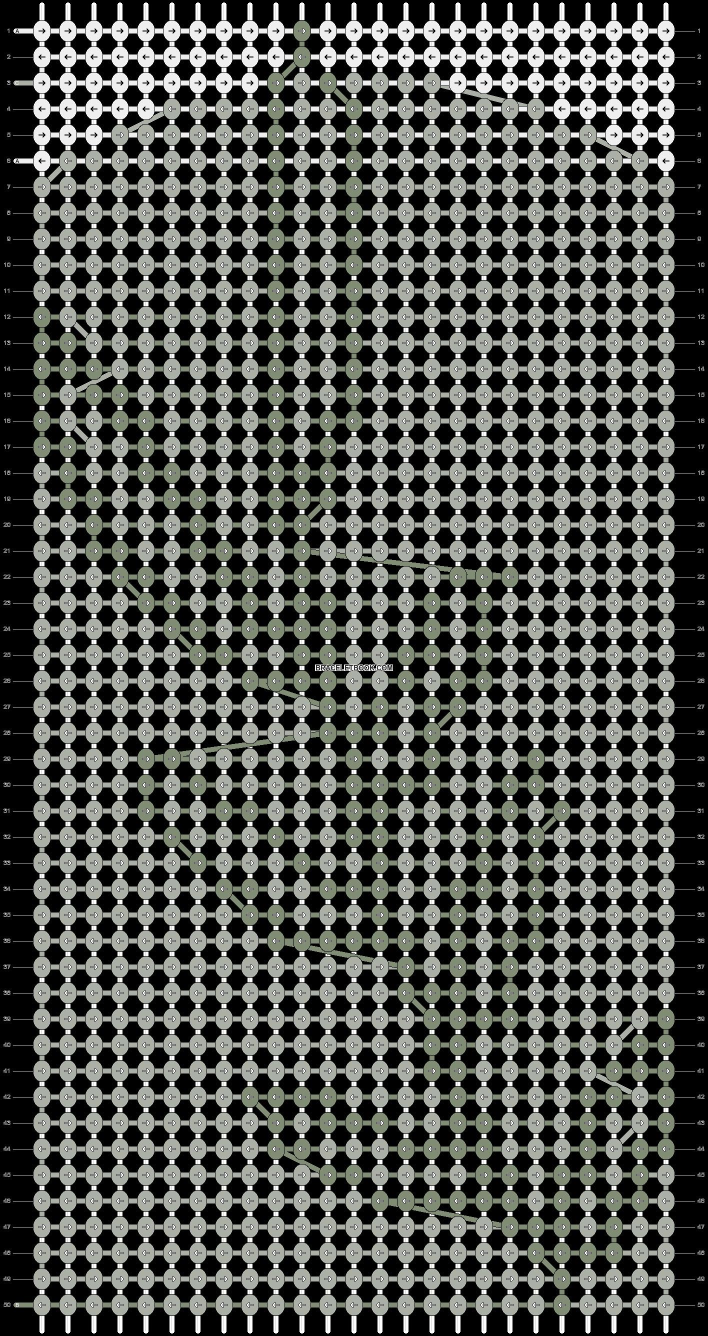 Alpha pattern #86891 pattern