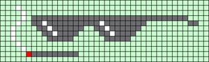 Alpha pattern #86914