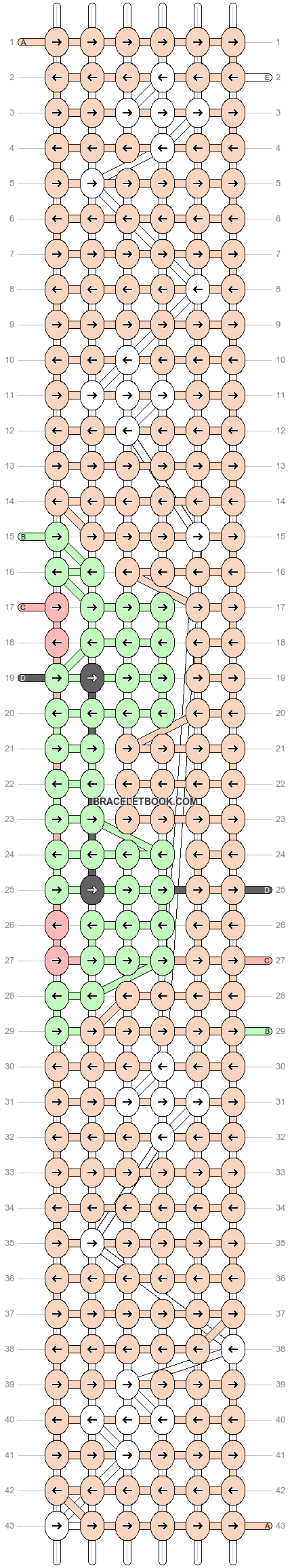 Alpha pattern #86920 pattern