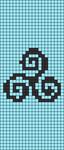 Alpha pattern #86946