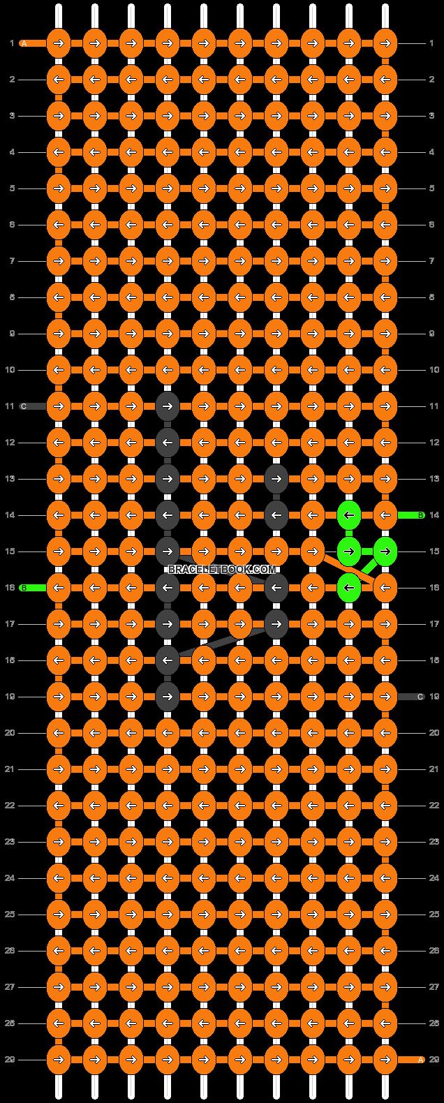 Alpha pattern #86948 pattern