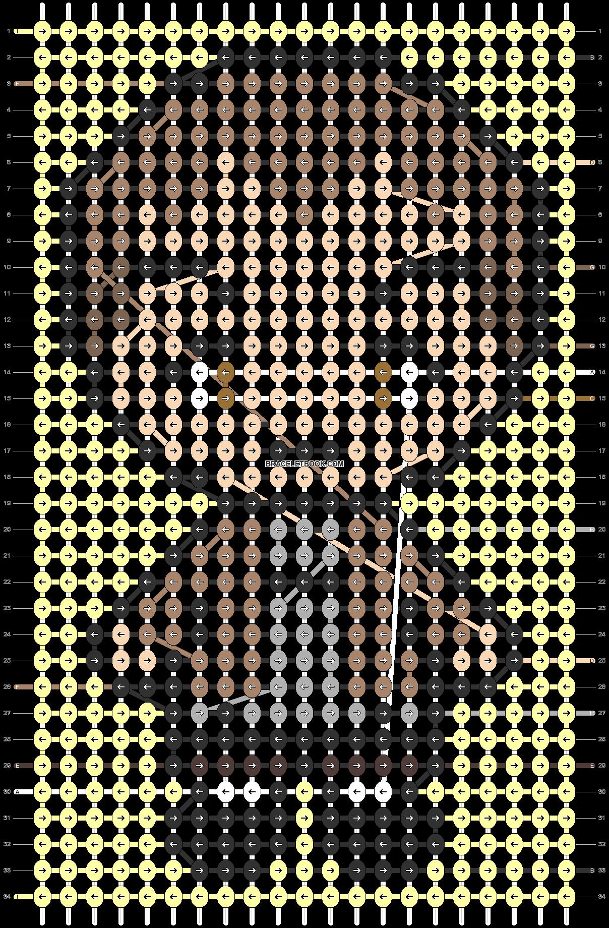 Alpha pattern #86949 pattern