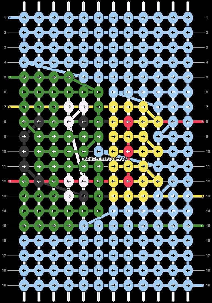 Alpha pattern #86950 pattern