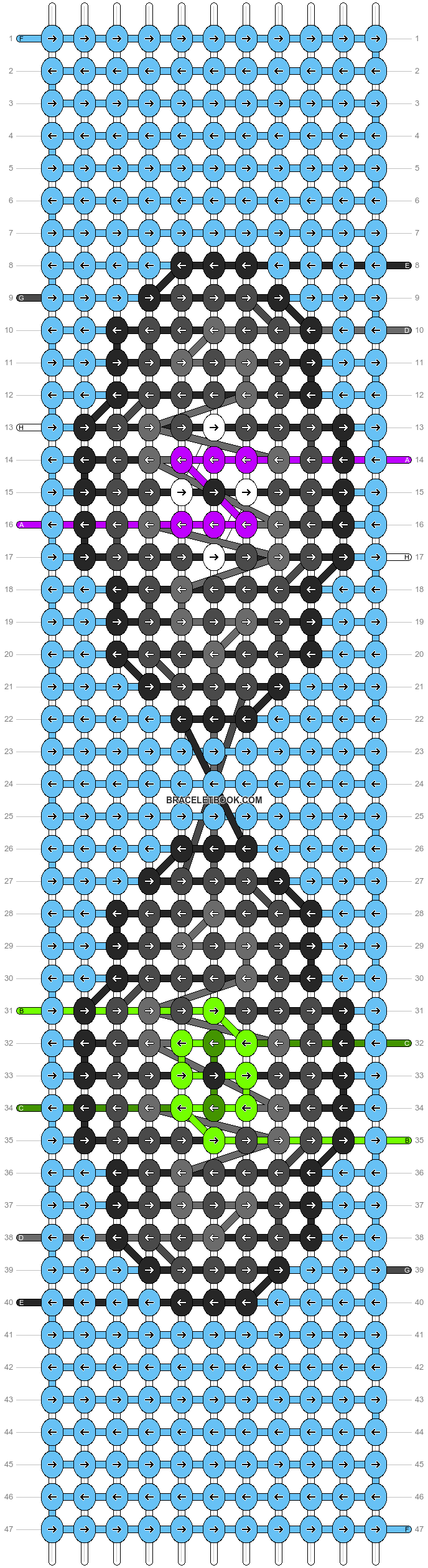 Alpha pattern #86954 pattern
