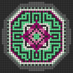 Alpha pattern #86966
