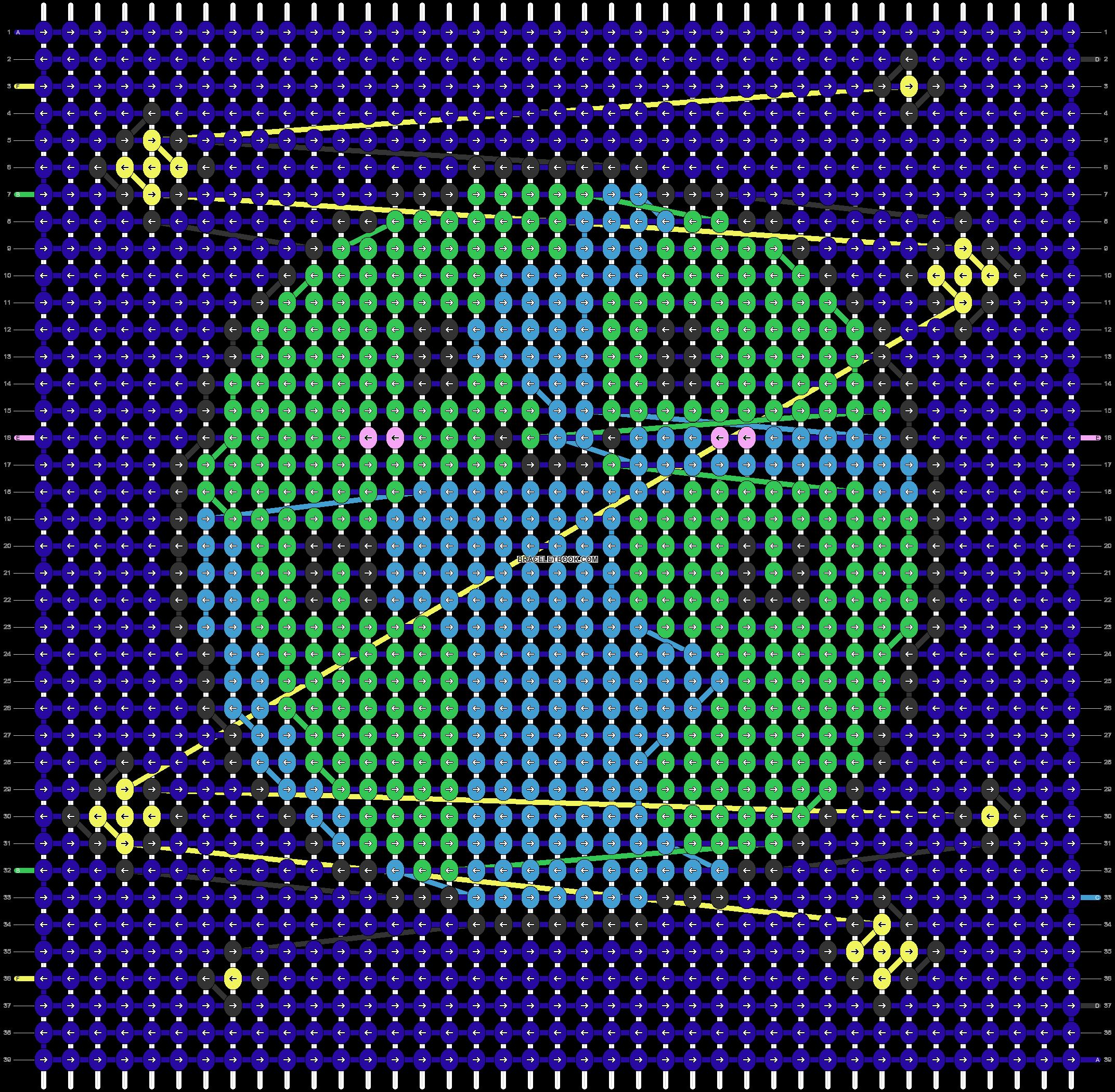 Alpha pattern #86970 pattern