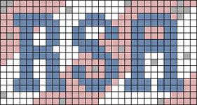 Alpha pattern #86976