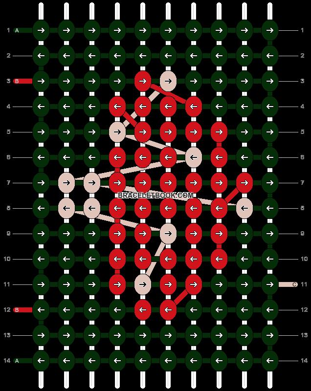 Alpha pattern #86993 pattern