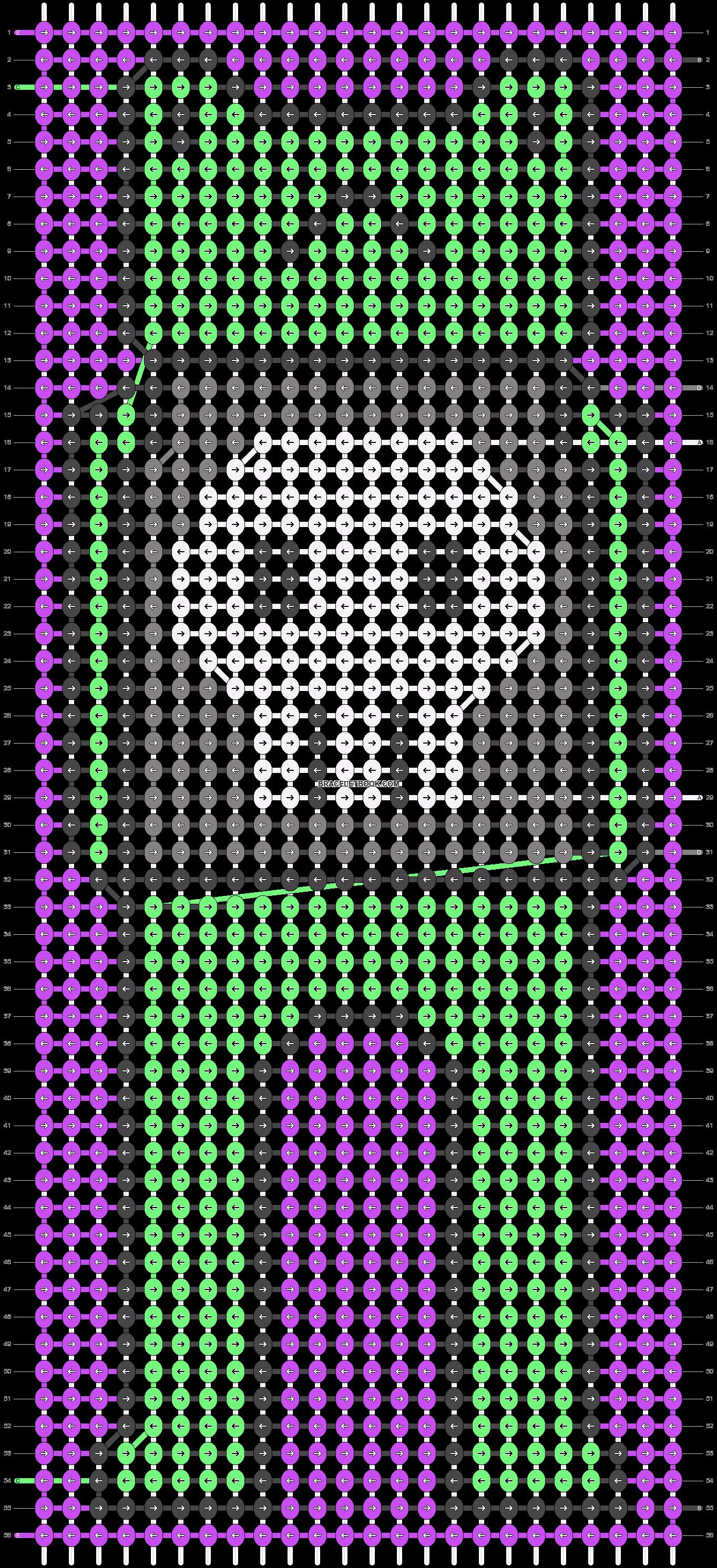 Alpha pattern #86999 pattern