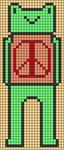 Alpha pattern #87000