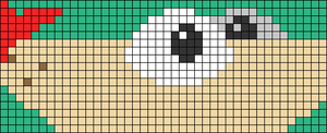 Alpha pattern #87018