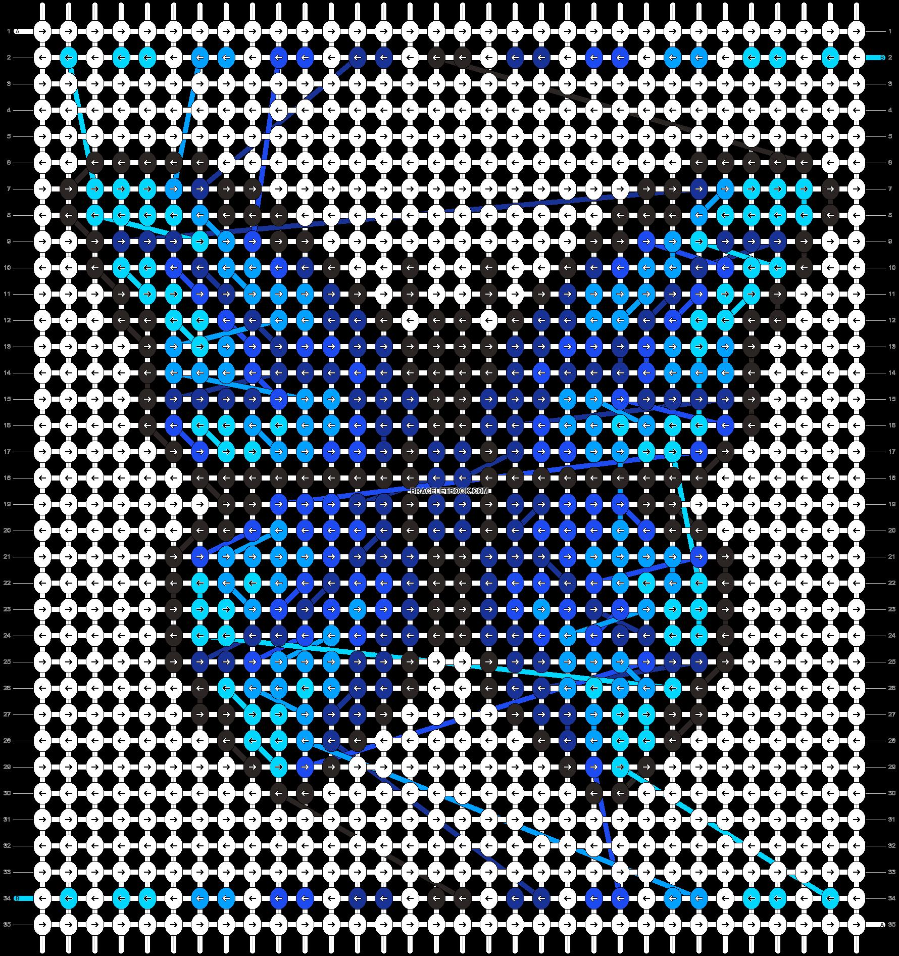 Alpha pattern #87042 pattern