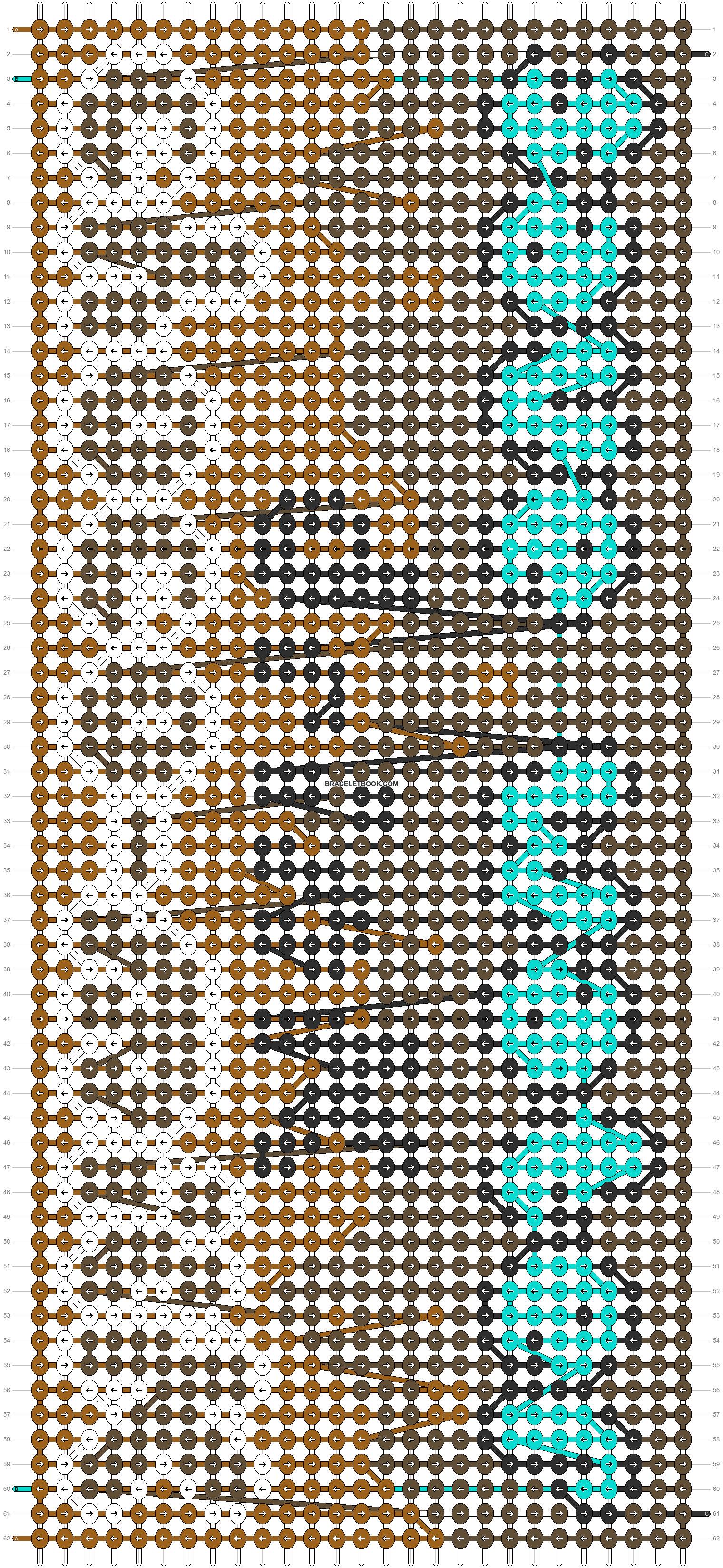 Alpha pattern #87046 pattern