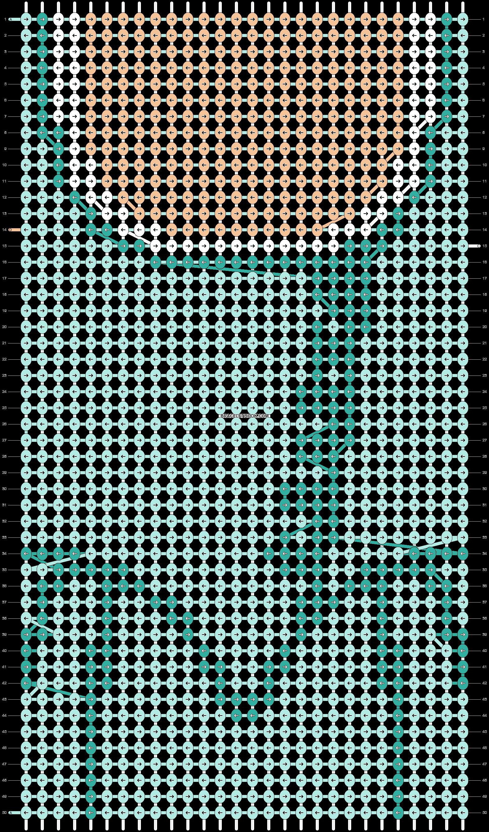 Alpha pattern #87047 pattern