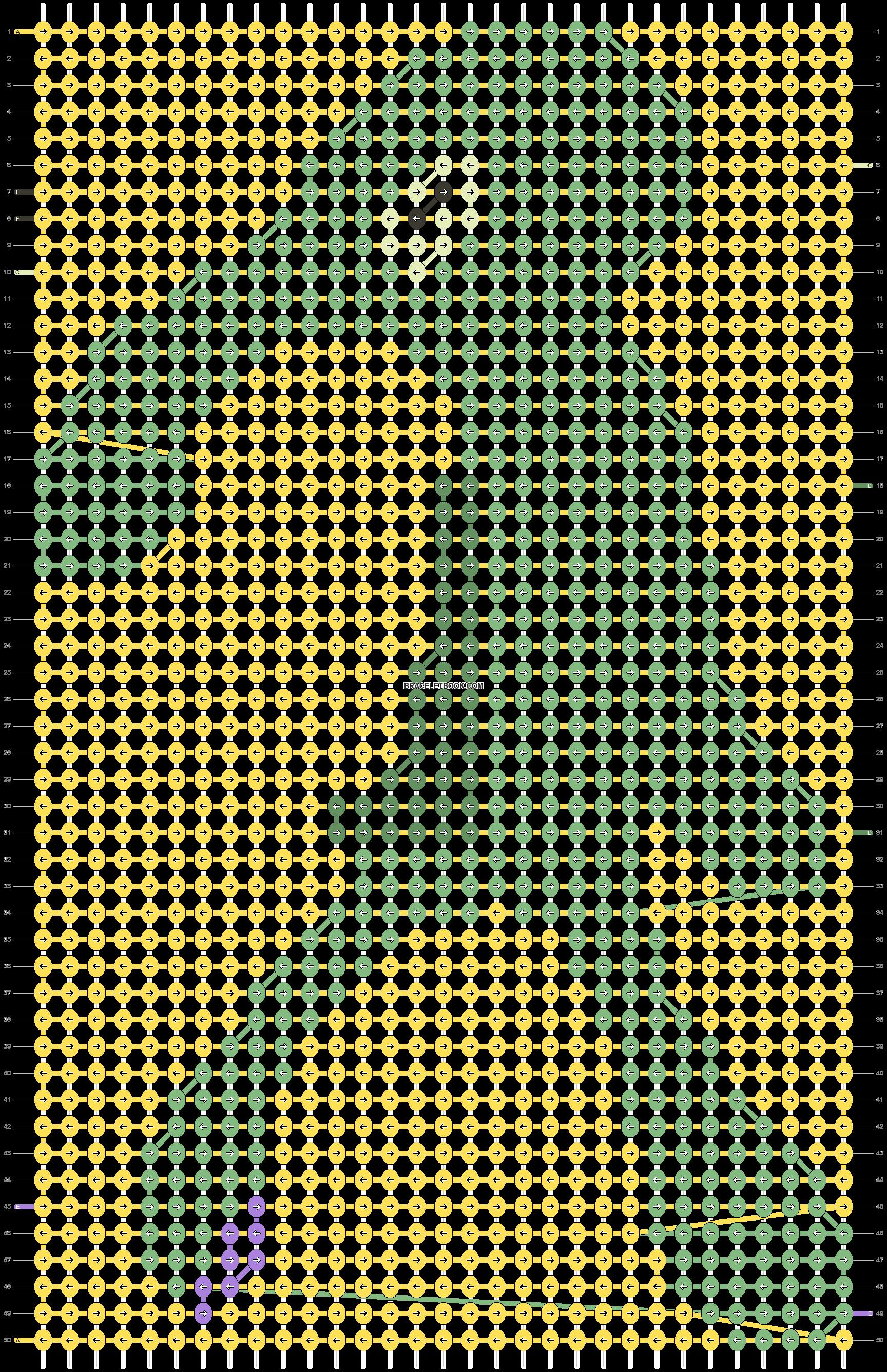 Alpha pattern #87052 pattern