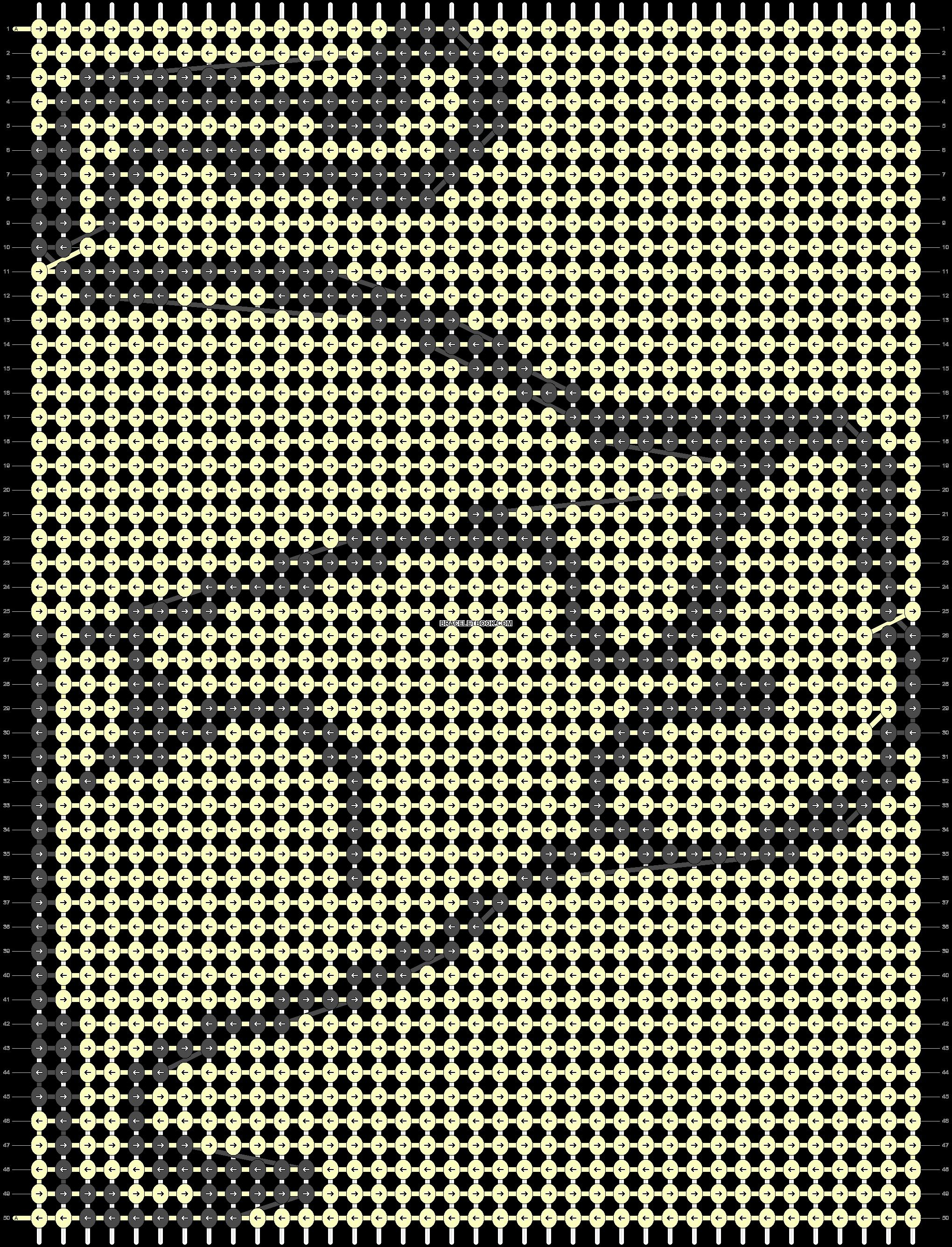 Alpha pattern #87058 pattern