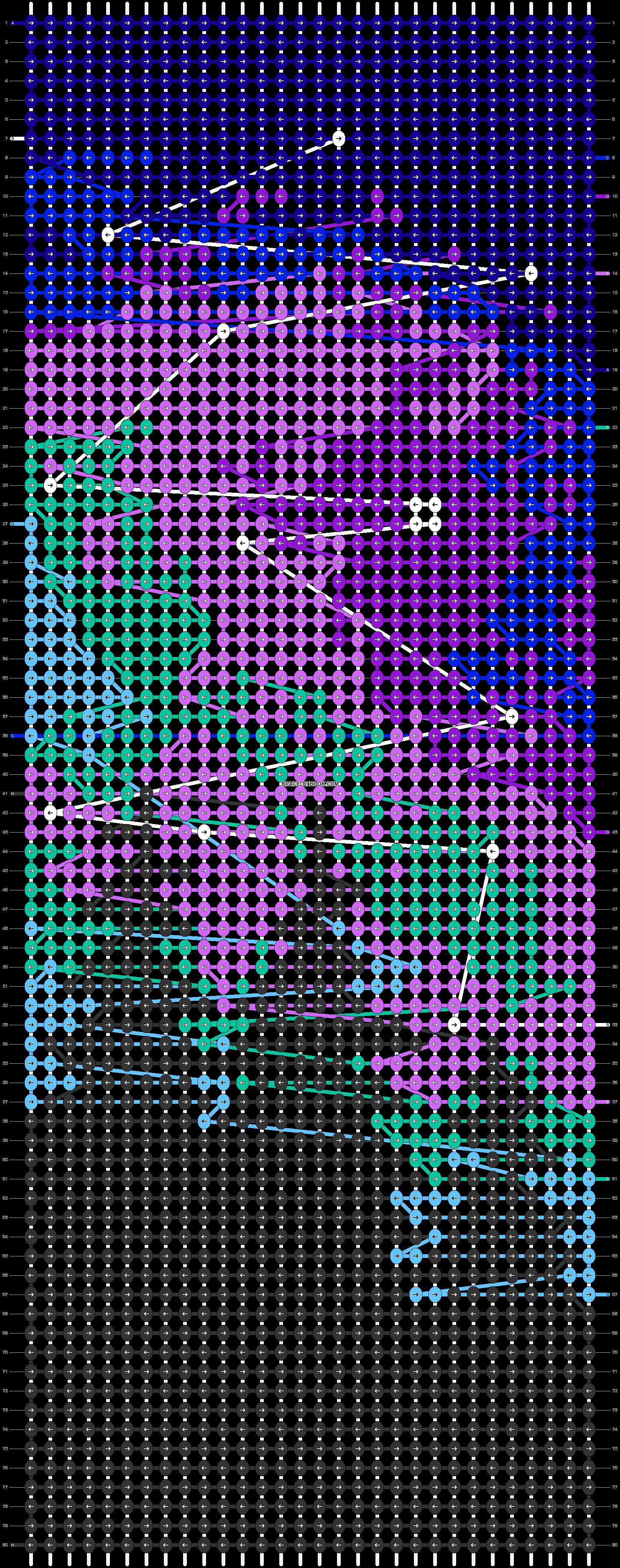 Alpha pattern #87070 pattern