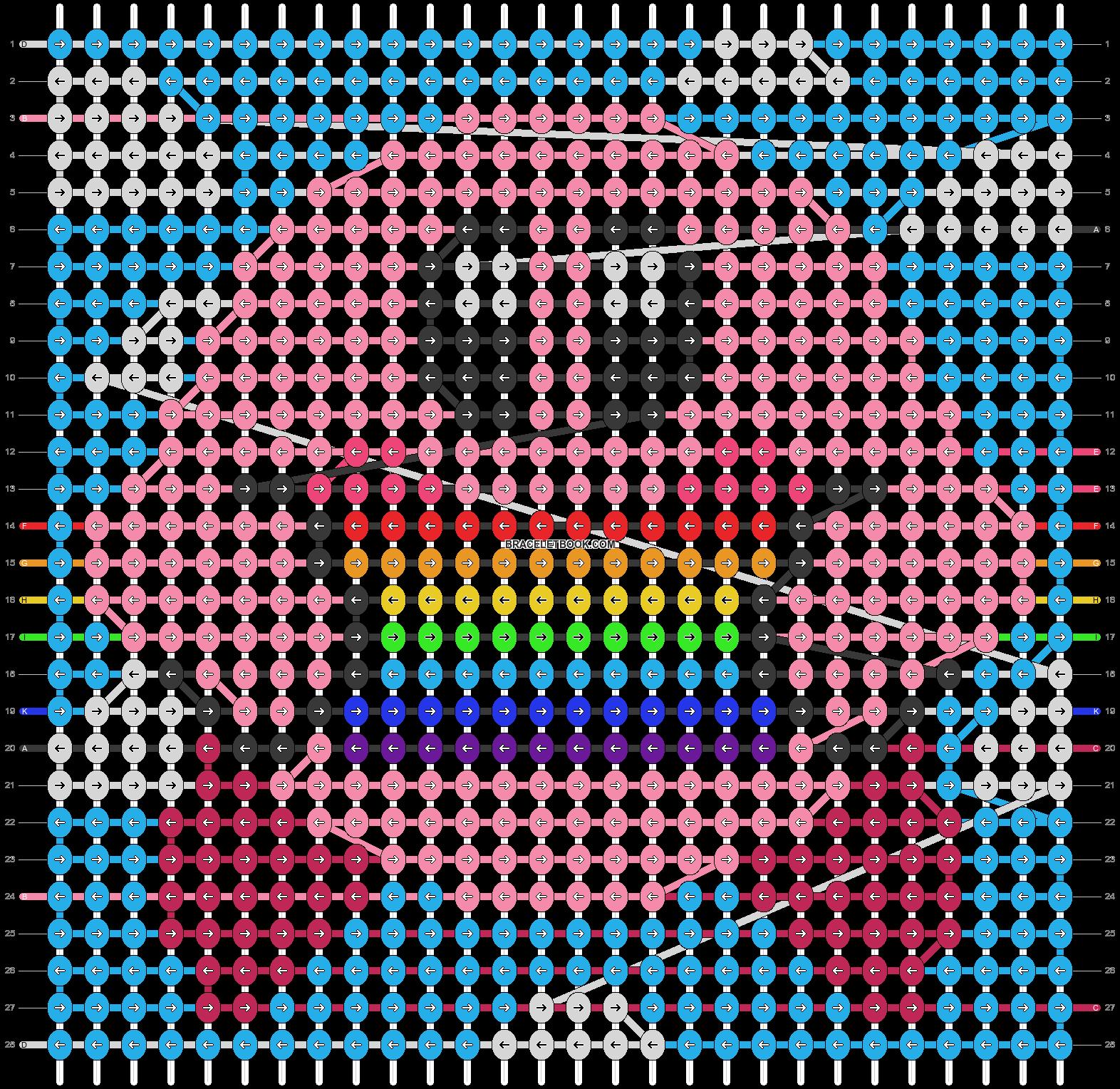 Alpha pattern #87084 pattern
