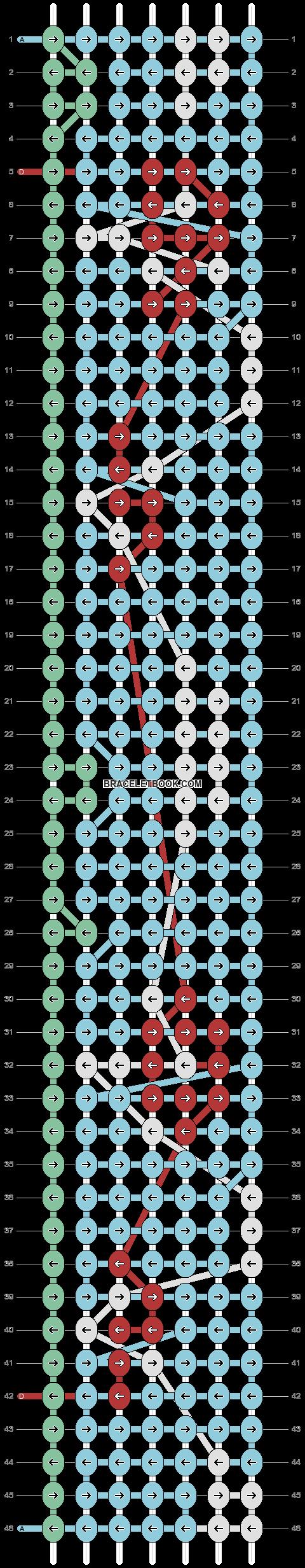 Alpha pattern #87086 pattern