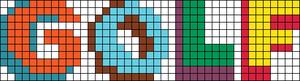 Alpha pattern #87125