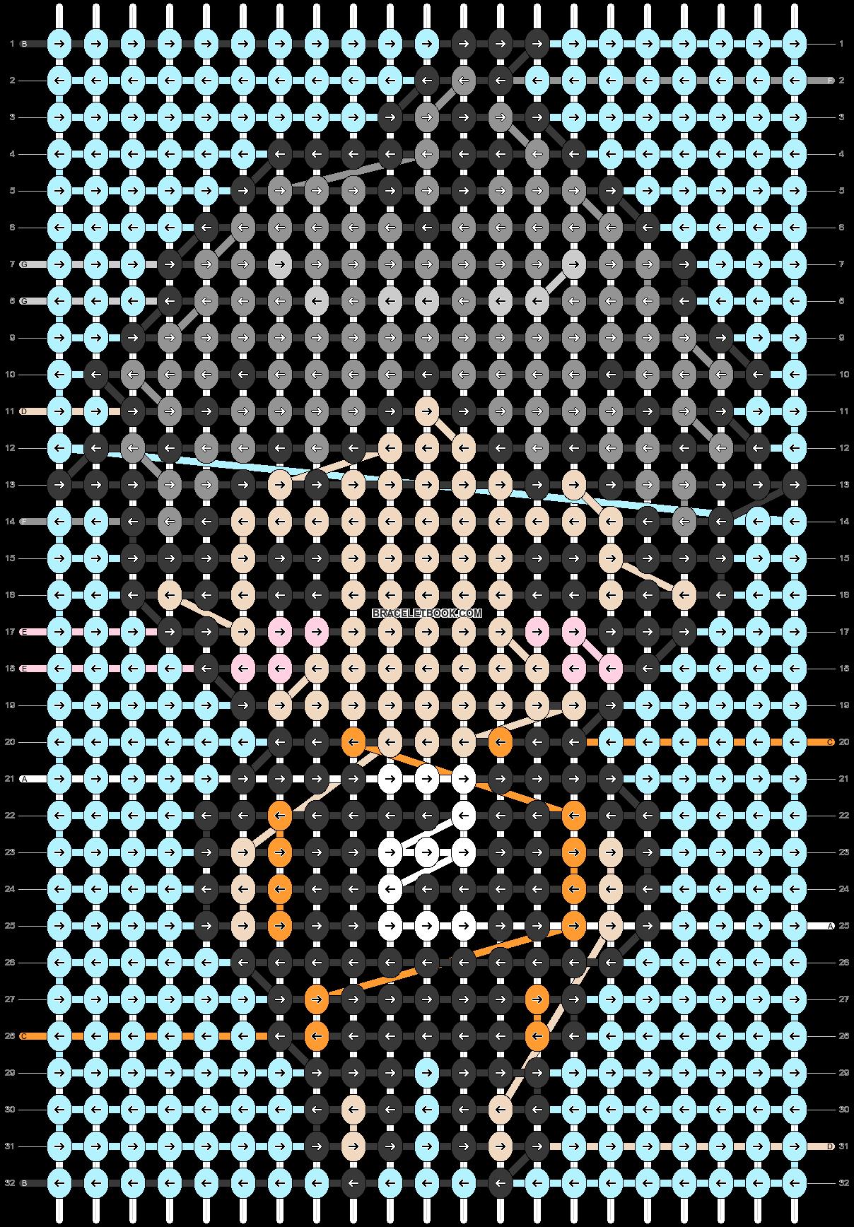 Alpha pattern #87128 pattern