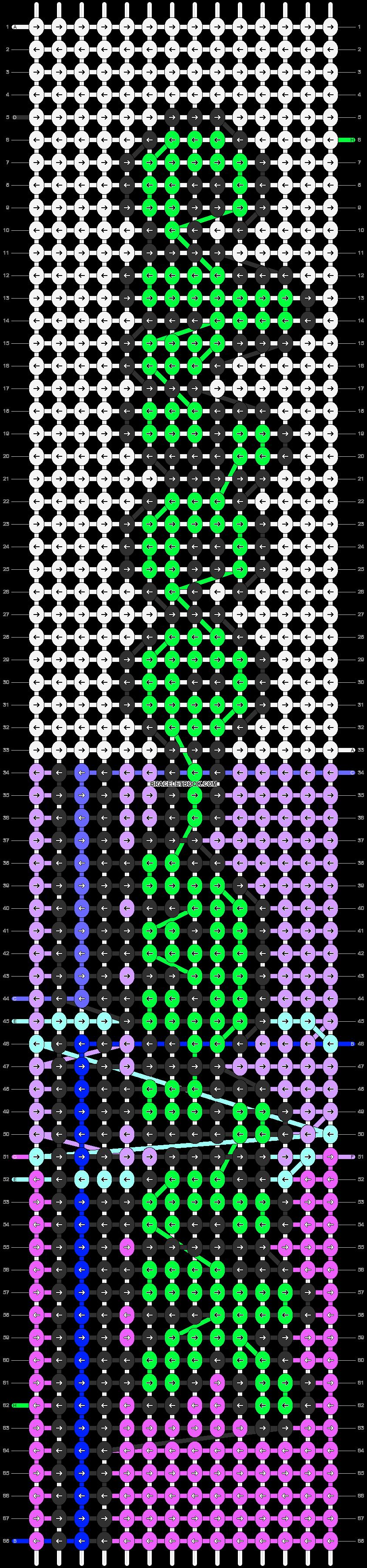 Alpha pattern #87144 pattern