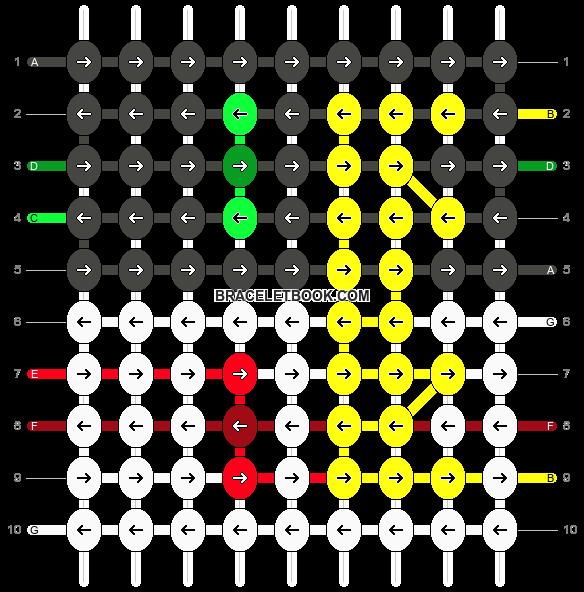 Alpha pattern #87176 pattern