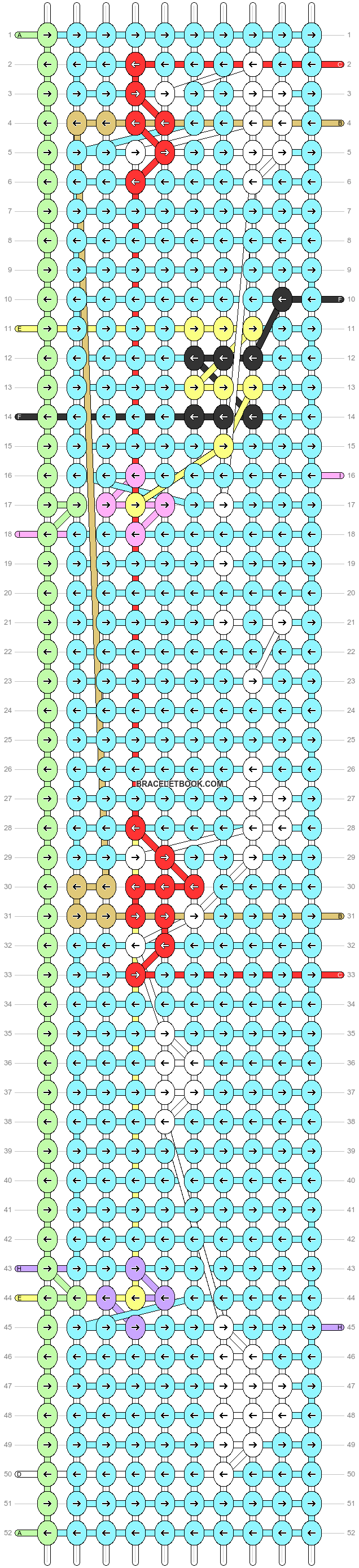 Alpha pattern #87206 pattern