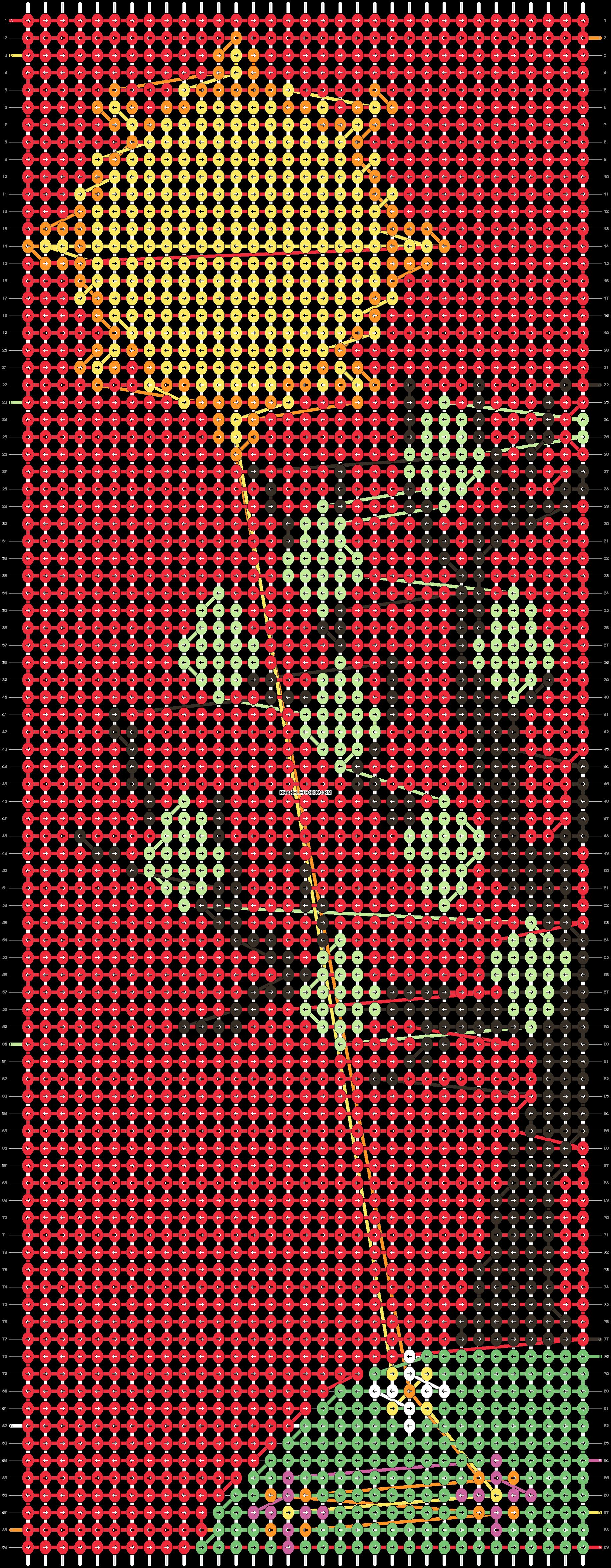 Alpha pattern #87208 pattern
